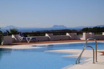 Golf & Gibraltar Views